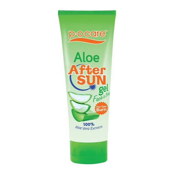 P.O.Care Aloe After Sun Gel For Sun Burn 170 ml อโลเจลอาฟเตอร์ซัน