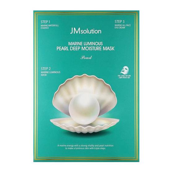 JM Marine Luminous Pearl Deep Moisture Mask มาส์กเพิร์ลมารีน