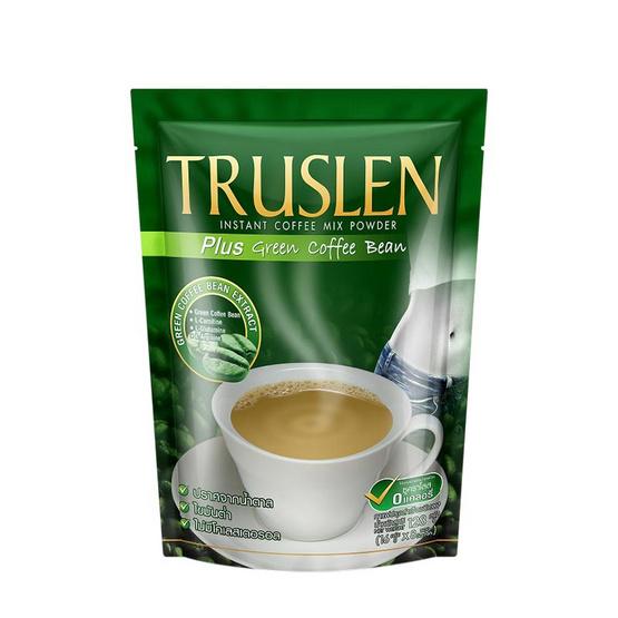 TRUSLEN พลัสกรีนคอฟฟี่บีน 16 กรัม x 8 ซอง