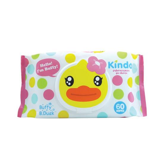 Kindo B.Duck ซากุระ ไวพ์ 60 แผ่น