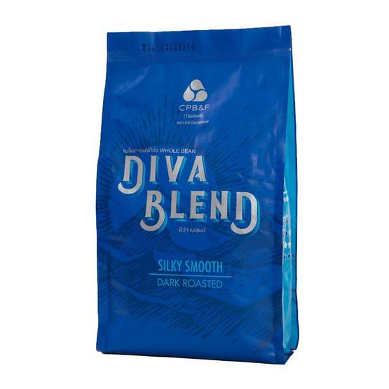 เมล็ดกาแฟแท้คั่ว DIVA BLEND