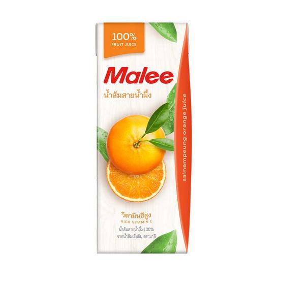 มาลี น้ำส้มสายน้ำผึ้ง 100% 200 มล.