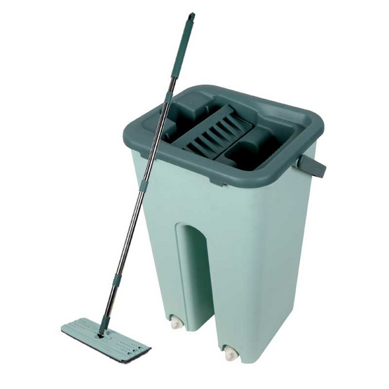 Cleanmate ชุดถังม็อบถูพื้นแบบรีดน้ำ