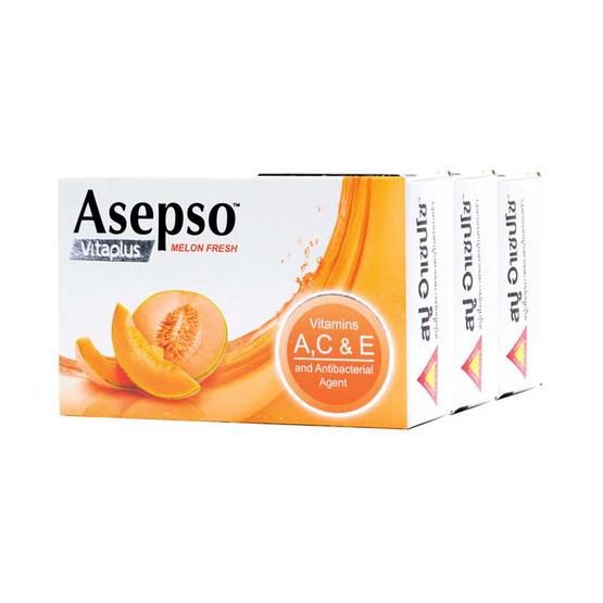Asepso สบู่ก้อนอาเซปโซ วีต้า พลัส