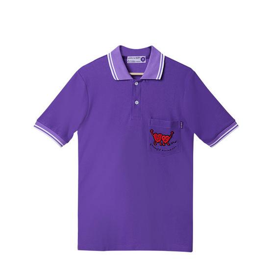 รามาธิบดี เสื้อโปโล ฝีพระหัตถ์ 2019 สีม่วง