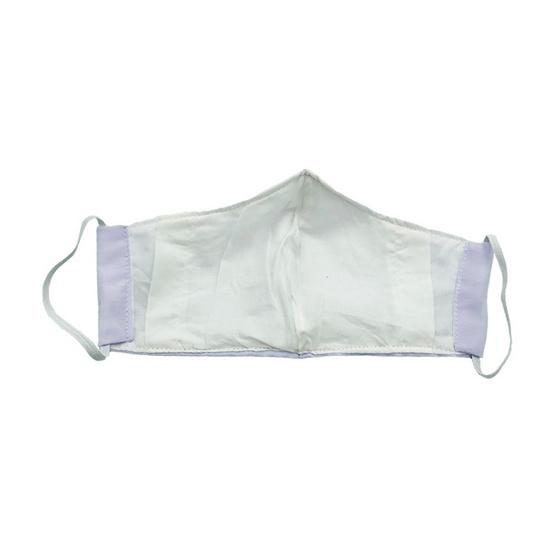 หน้ากากผ้าฝ้ายมัสลิน (เด็ก) สีขาว 4 ชิ้น พร้อมแผ่นกรอง 8 ชิ้น