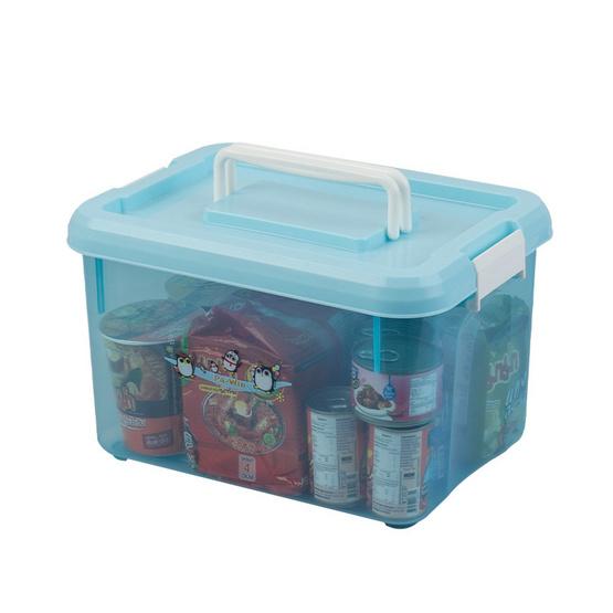 กล่องอเนกประสงค์ลาย Pa-win สีฟ้า
