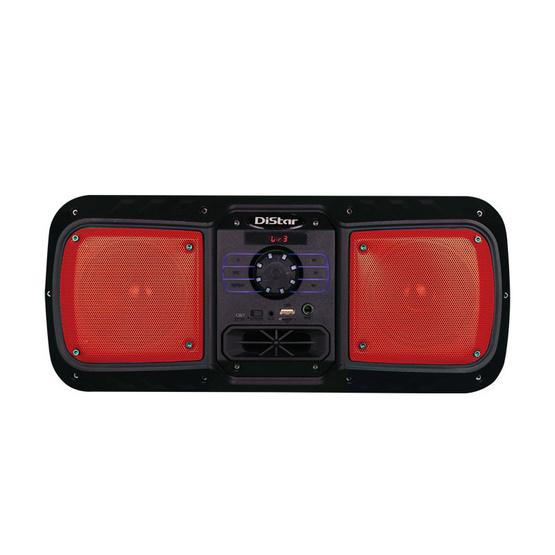 Distars วิทยุลำโพง รุ่นที 2 สีแดง