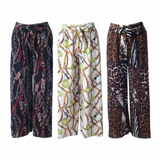กางเกงแพรวพรรณราย แพ็ก 3 ตัว