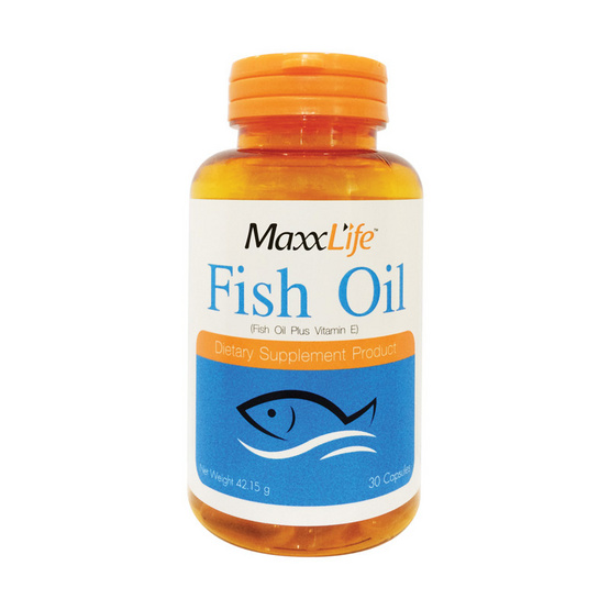Maxxlife Fish Oil น้ำมันปลา 30 แคปซูล