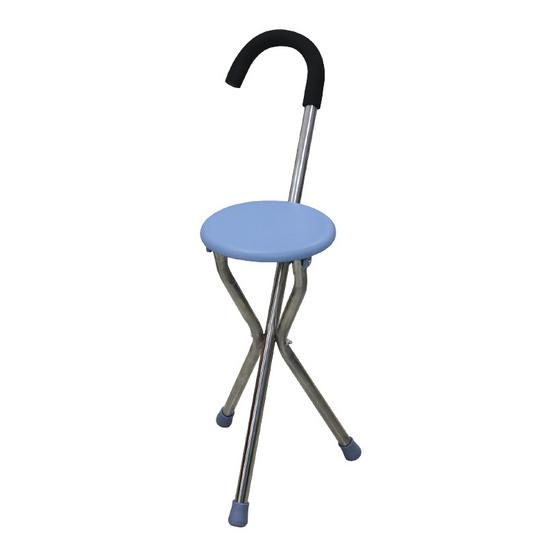 ไม้เท้าก้านร่มแบบเก้าอี้