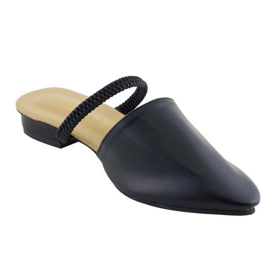 รองเท้าสตรี รัดส้น สีดำ