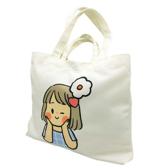กระเป๋าผ้า From Care to Share ออกแบบโดยซิบบิล แถมฟรีที่ห้อยประเป๋าสุดน่ารัก