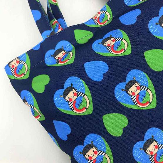 กระเป๋าผ้า From Care to Share ออกแบบโดย SIRI แถมฟรีที่ห้อยประเป๋าสุดน่ารัก
