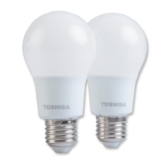 Toshiba หลอดไฟ LED ขั้ว E27 (8W) เดย์ไลท์ FT-LED-A60-088