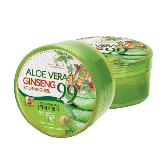 2&PS ชูตติ้งเจล Aloe Vera Ginseng 300 กรัม