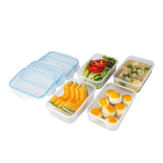 กล่องอาหาร 4 ชิ้น/ชุด