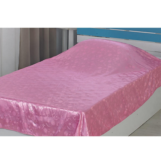 ผ้าแพร 60x80 นิ้ว สีชมพู