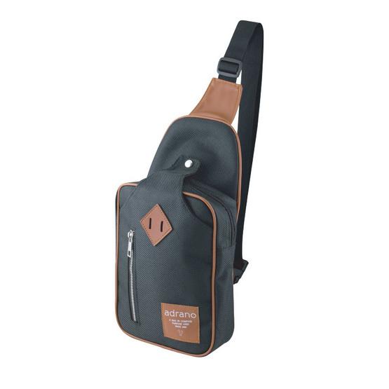กระเป๋าคาดอก รุ่น BRINK ZIP ADRANOZ สีดำ