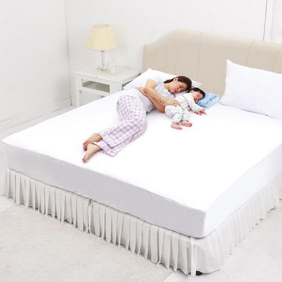 INTEND CARE ชุดแผ่นกันเปื้อนที่นอน ผ้าปู 5 ฟุต + ปลอกหมอน 2 ใบ