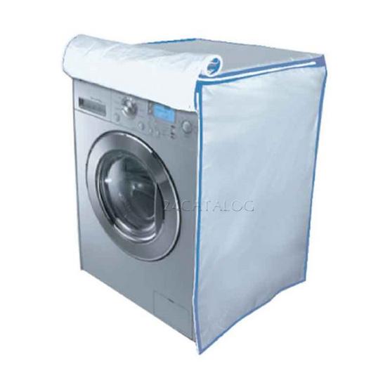 ผ้าคลุมเครื่องซักผ้า 2 in 1 ลายดอกเดลซี่ 10 กก.