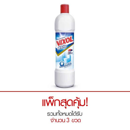 วิกซอล น้ำยาล้างห้องน้ำ สีขาว 900 มล.