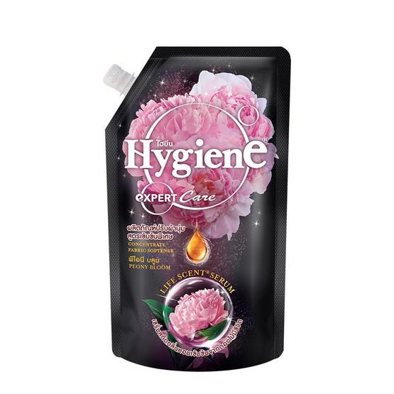 ไฮยีน ผลิตภัณฑ์ปรับผ้านุ่มเข้นข้น กลิ่นพีโอนี บลูม 540 มล. สีดำ