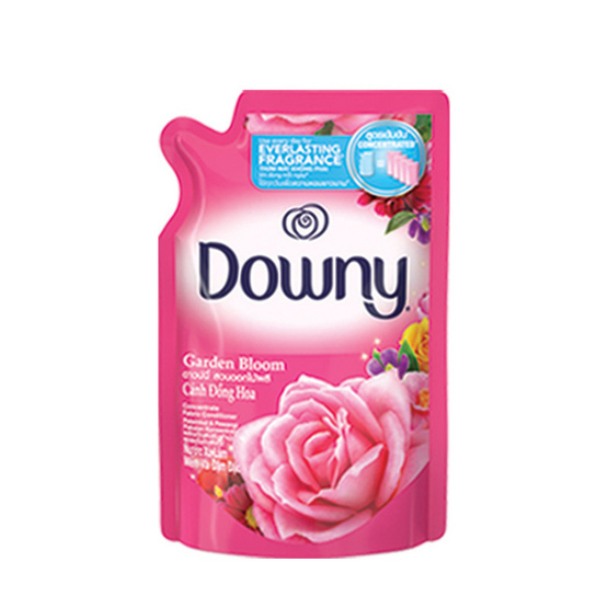 Downy น้ำยาปรับผ้านุ่ม กลิ่นการ์เด้น บลูม 650 มล. สีชมพู