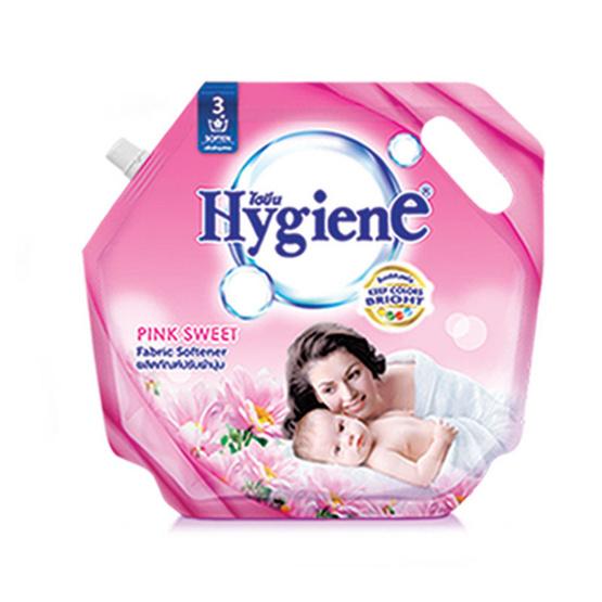 ไฮยีน ผลิตภัณฑ์ปรับผ้านุ่ม กลิ่นพิงค์ สวีท 1,800 มล. สีชมพู