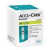 Accu-Chek แถบตรวจระดับน้ำตาลในเลือด อินสแตน 25 ชิ้น