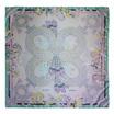 ผ้าพันคอ silk satin ออกแบบโดย Pomme Chan