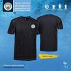 เสื้อคอกลม MCFC รุ่น T-008 สีดำ