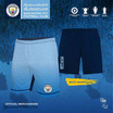กางเกงขาสั้น MCFC รุ่น 011 สีฟ้า