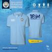 เสื้อโปโล MCFC รุ่น PL-006 สีฟ้า